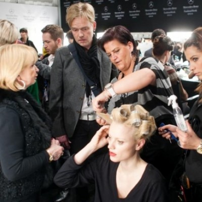 Backstage Stephan Pelger